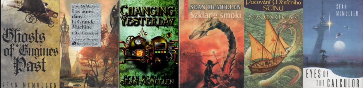 Sean McMullen Books Banner